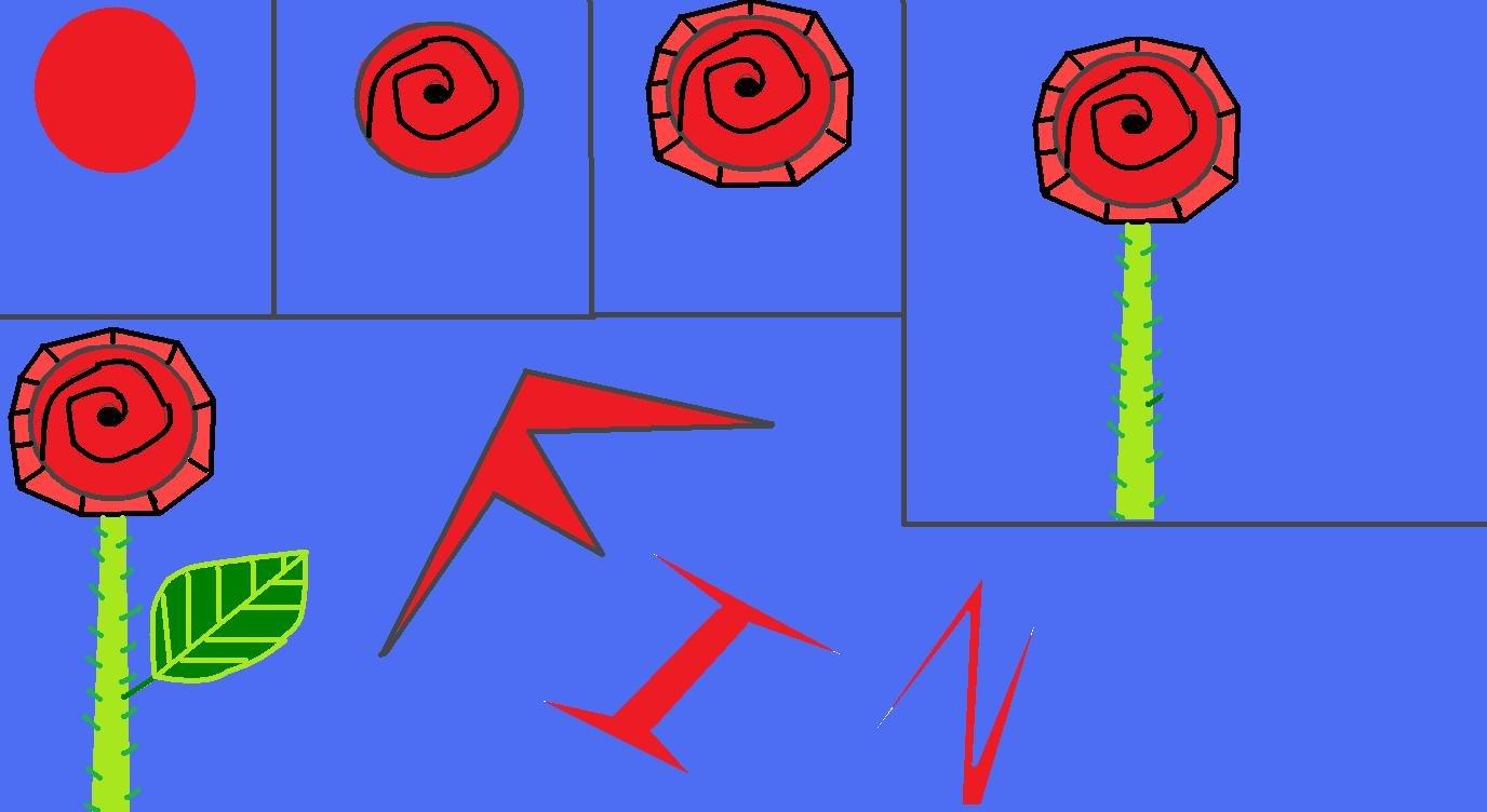 dead of fun apprendre a dessiner une rose. Black Bedroom Furniture Sets. Home Design Ideas